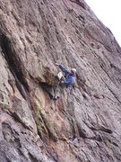 Rock Climbing Photo: The roof on P2....