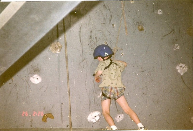 First Climbing Experience