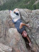 Rock Climbing Photo: Silliness at Fireblack.