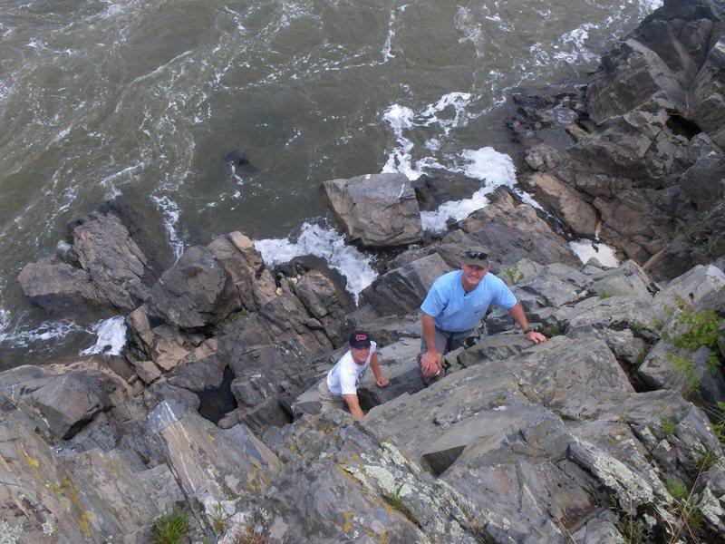 Rock Climbing Photo: Great Falls 2