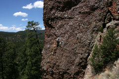 Rock Climbing Photo: Fun cobble pulling.