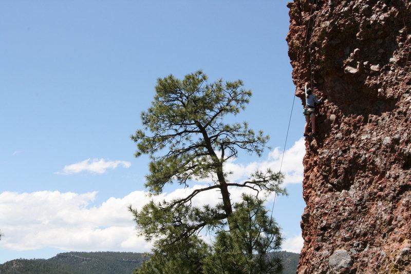 Rock Climbing Photo: Unknown climber