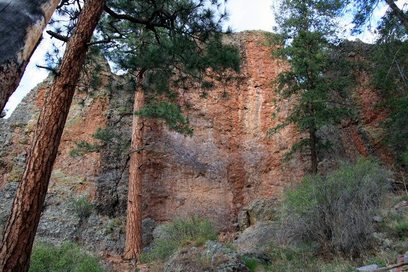 Big Pine Wall