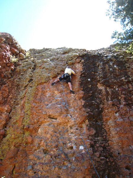 Rock Climbing Photo: Short and steep.