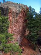 Rock Climbing Photo: Rad Wall