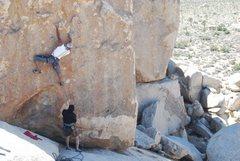 Rock Climbing Photo: Tony with Scott belaying.