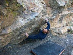 Rock Climbing Photo: Geo Thermal, V5+.