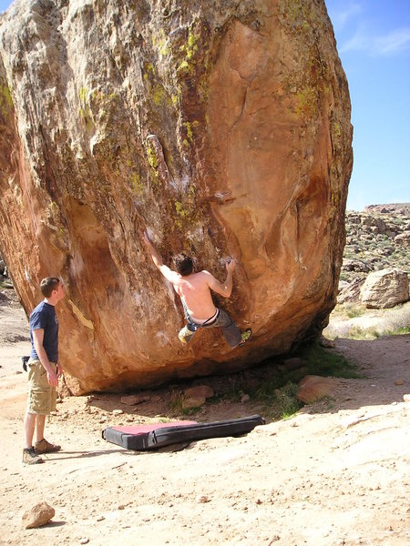 Rock Climbing Photo: Sentinel boulder Moe's valley