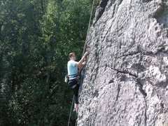 Rock Climbing Photo: LA on Vertical Extension (5.4). It's just another ...