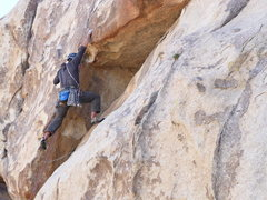 Rock Climbing Photo: Double up the C3s in the roof and go for it. Pic b...