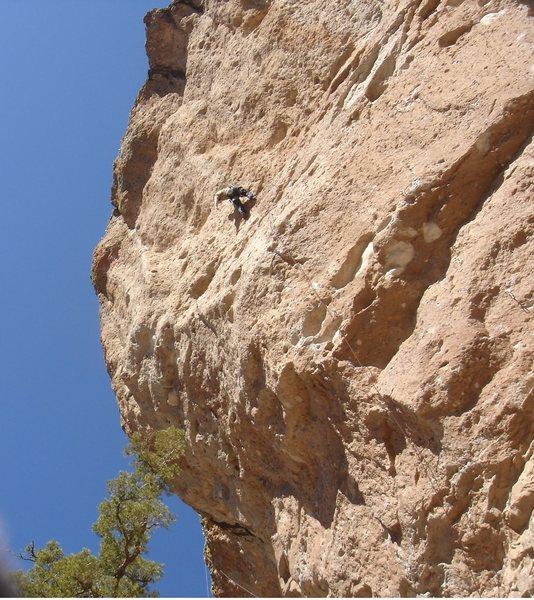 Rock Climbing Photo: JC demonstrating why he's the MAN.