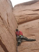 Rock Climbing Photo: Mike on P1
