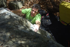 Rock Climbing Photo: This is what a lack of skin does for you...