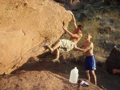 Rock Climbing Photo: Camelback bouldering