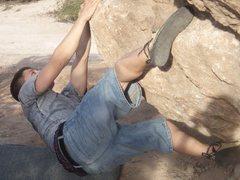 Rock Climbing Photo: Queen Creek bouldering