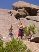 Rock Climbing Photo: McDowell Mtns. - Morrell's Parking Lot Wall - 7 Up