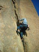 Rock Climbing Photo: Y Crack