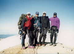 Rock Climbing Photo: Summit of Baker.  MWTC instructors. Eric, Willy,me...
