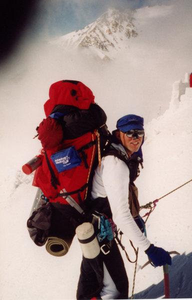 Rock Climbing Photo: Denali slog up to 17,200 camp