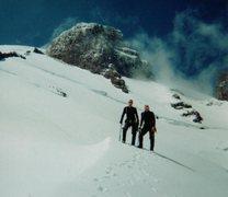 Rock Climbing Photo: Camp Muir, Mt Rainier