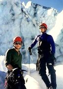 Rock Climbing Photo: Me and Dave Posing (should have been in a NF ad)