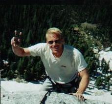 Rock Climbing Photo: Fairview Dome, Regular Route, Tuolumne Meadows 199...