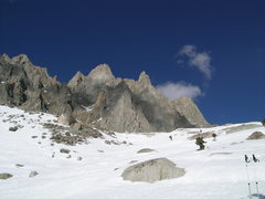 Rock Climbing Photo: Eastern Sierras. Telemark Marines