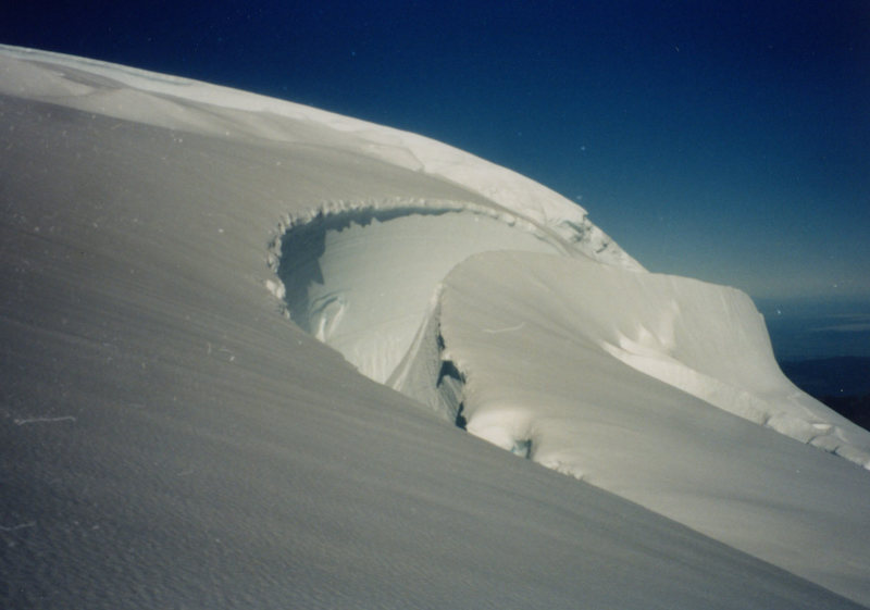 Rock Climbing Photo: Cool Shot from Mt Baker