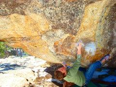 Rock Climbing Photo: Josh on Flesh Wound