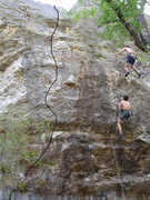 Rock Climbing Photo: Spanish Fly and Microwave on Irreverent Youth with...