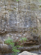 Rock Climbing Photo: Rain Dance and Stanglehold