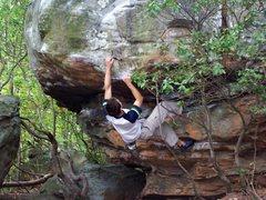 Rock Climbing Photo: Rock Town, GA