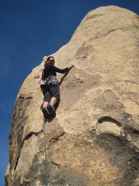 Rock Climbing Photo: Leading Brewser (5.9) w/Chad