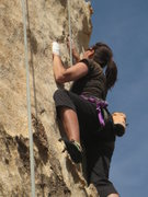 Rock Climbing Photo: Route of All Evil (5.7)