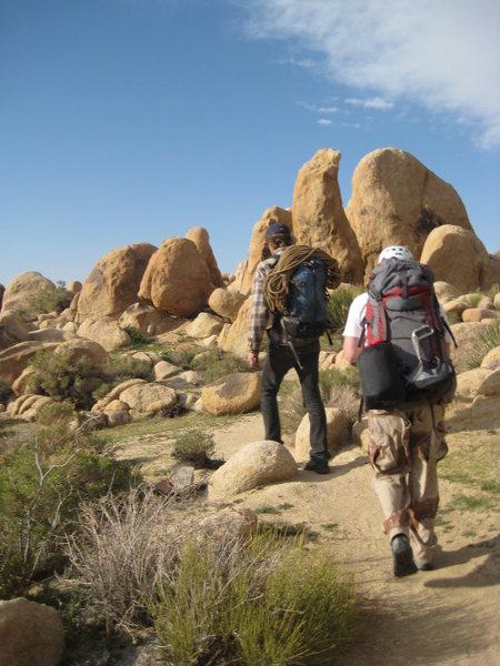 Rock Climbing Photo: Heading home....