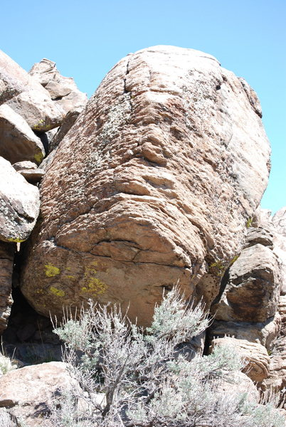 Rock Climbing Photo: A pic of The Mini Boulder.