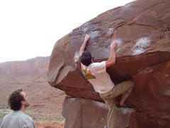 Rock Climbing Photo: Robbie