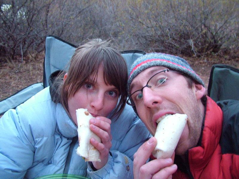 Rock Climbing Photo: Burritos