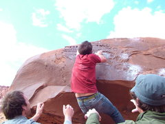 Rock Climbing Photo: Robbie
