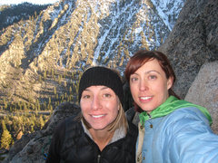 Rock Climbing Photo: Awesome and solitary day at Woodfords Canyon  Apri...