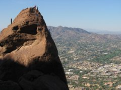 Rock Climbing Photo: Camelback Mountain - The Monk
