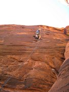 Rock Climbing Photo: Red Rocks - The Black Corridor
