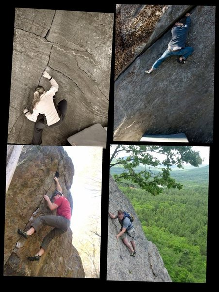 Rock Climbing Photo: Just a few photos of NH climbing I put into a coll...