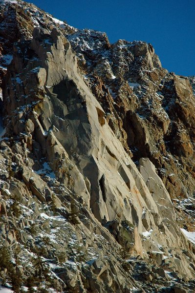 Cardinal Pinnacle - Northwest Face