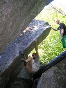 Rock Climbing Photo: Chris D. sending