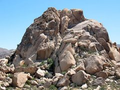 Rock Climbing Photo: Varnished Wall, Joshua Tree NP