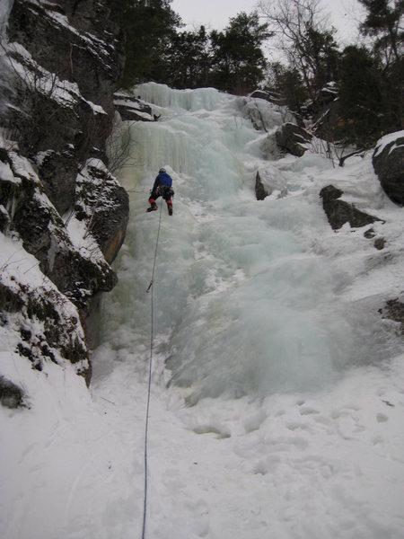 Rock Climbing Photo: Duofold, Newfound Lake, NH.