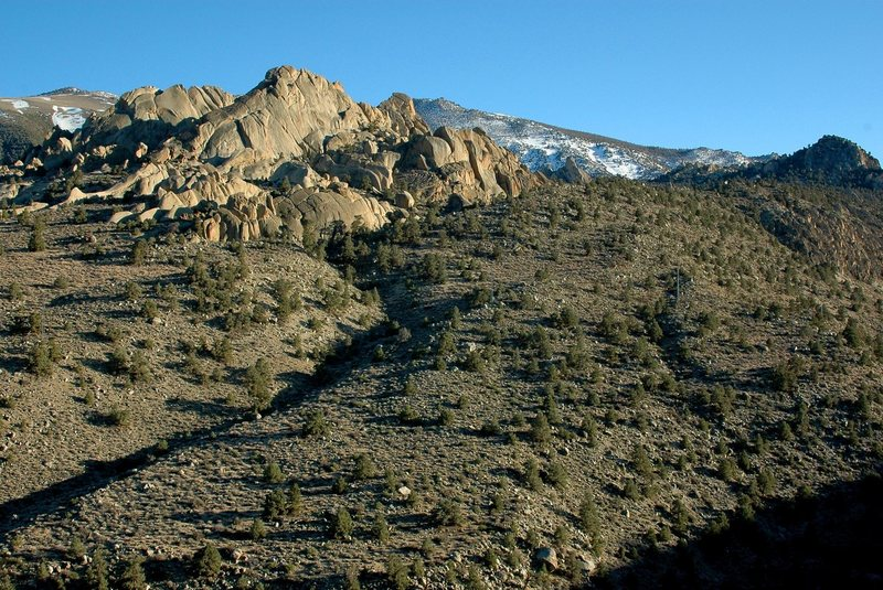 Rock Climbing Photo: Little Egypt, from Rt. 168