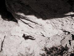 Rock Climbing Photo: On Rappel