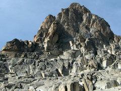 Rock Climbing Photo: Approaching Firman's Tower.
